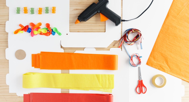 Piñata materials