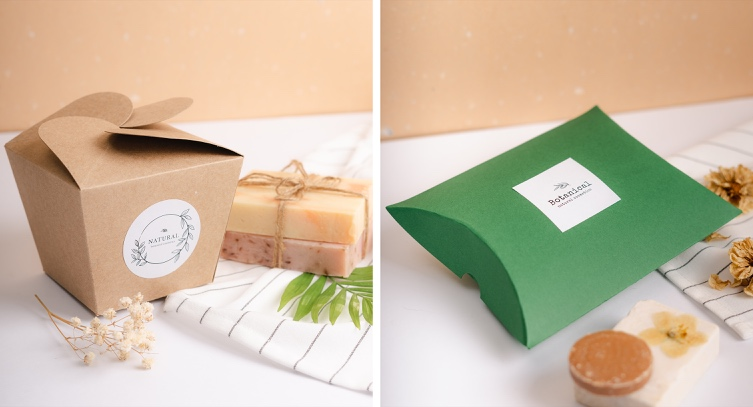 Packaging for handcrafted soap