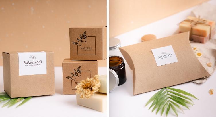 Natural packaging in kraft