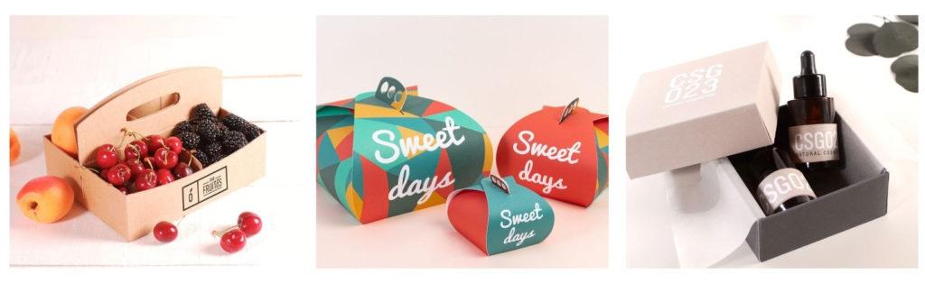 Cajas carton kraft personalizadas