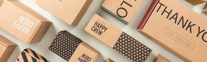 Cajas de carton kraft