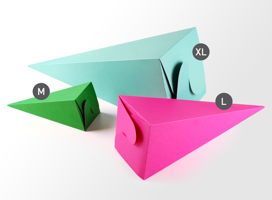 Cone-shaped Party Box