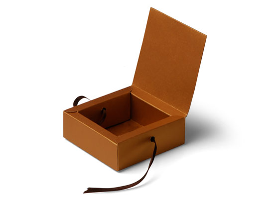 Square gift box with lid