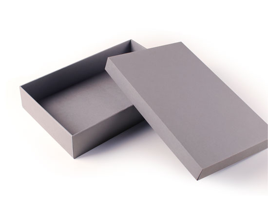 Rectangular rigid box