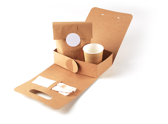 Take-away food container